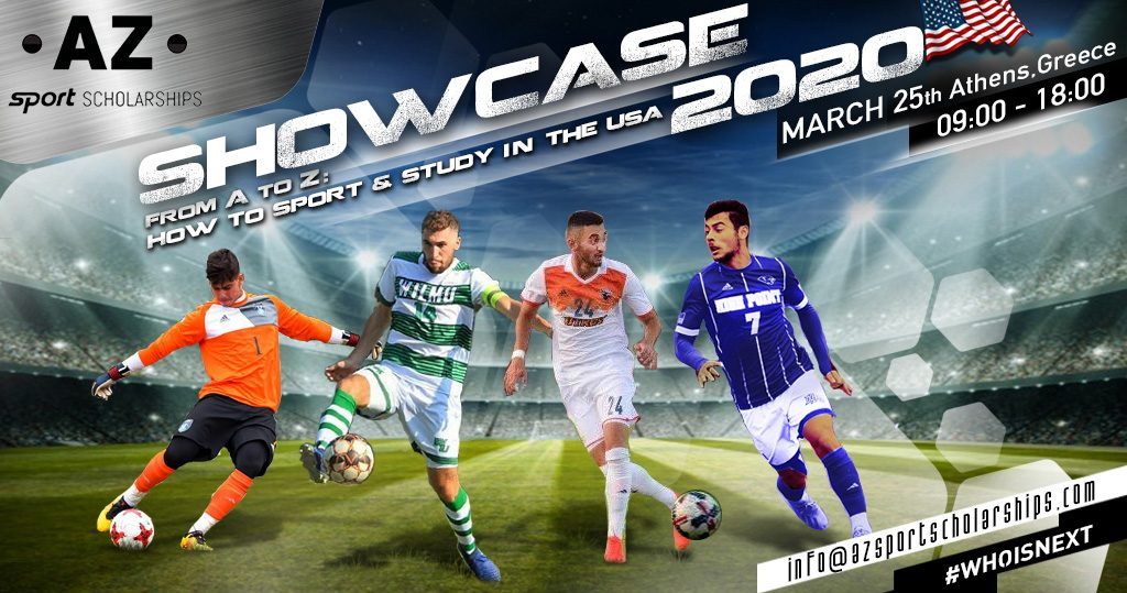 College Showcase - Events - AZ Sport Scholarships - From A to Z How To Sport And Study In The USA